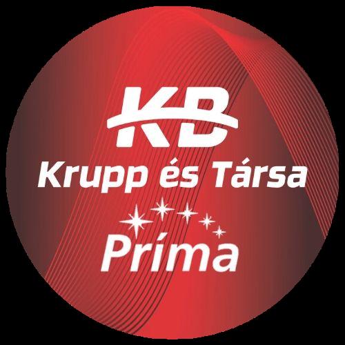 A képhez tartozó alt jellemző üres; Krupp_Prima_logo.png a fájlnév