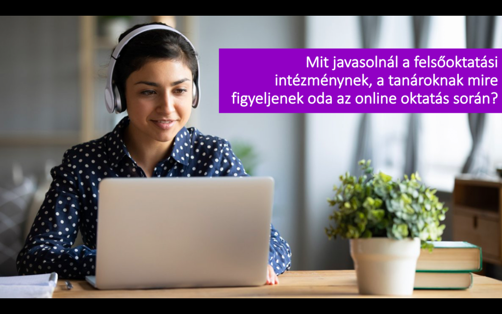 Online workshopot szervezett a SINOSZ a felsőoktatásban tanuló hallássérült személyek számára